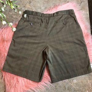 8db137b418 Pebble Beach Shorts - Lone Cypress by Pebble Beach Plaid Golf Shorts
